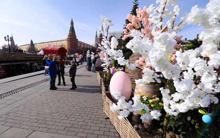 Экскурсии по Москве в апреле