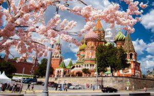 Экскурсии в июне по Москве